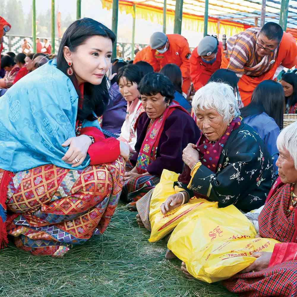 Her Majesty Gyalyum Sangay Choden Wangchuck, Queen Mother of Bhutan