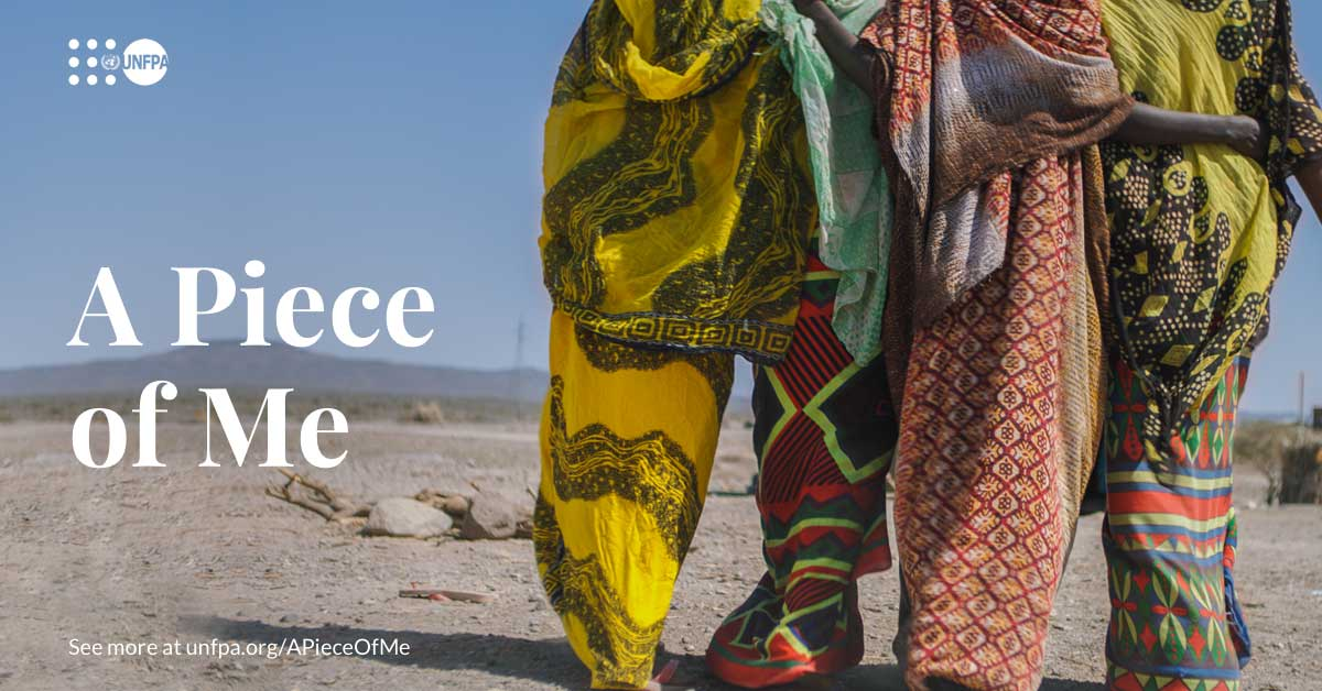 Female genital mutilation (FGM) is rooted in gender inequality and the social norms that uphold it. #SeeAPieceOfMe to hear three fearless women speak from the heart about ending FGM: unf.pa/APieceOfMe #EndFGM