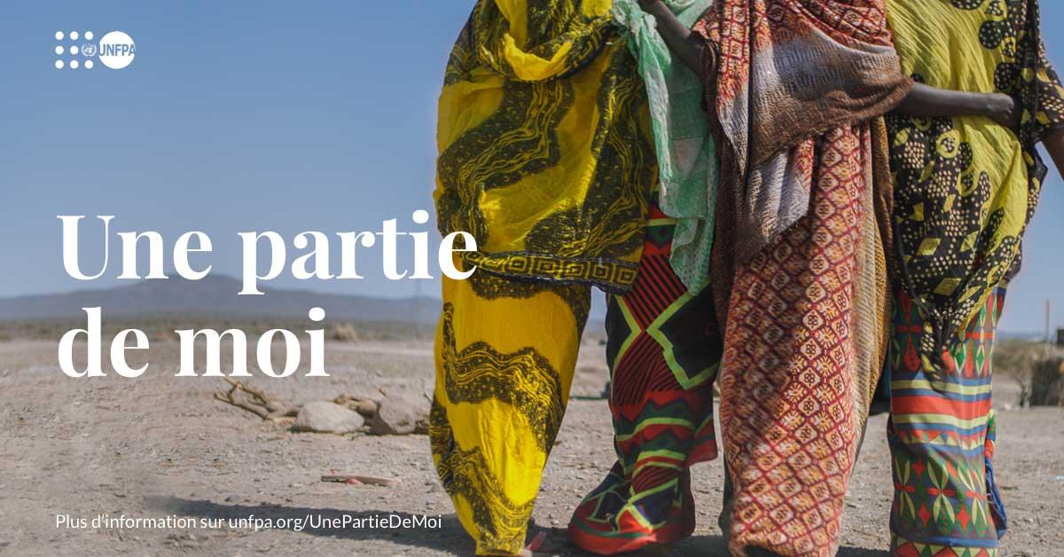 Les #mutilationsgénitalesféminines (MGF) sont fondées sur l'inégalité entre les genres et sur les normes sociales qui la maintiennent. Découvrez les histoires de trois femmes courageuses qui parlent ouvertement de leur combat contre les MGF : unf.pa/UnePartieDeMoi #SeeAPieceOfMe #EndFGM