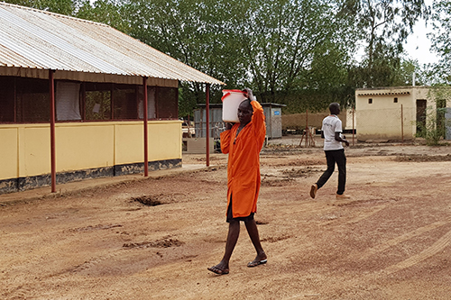 The pandemic is causing a rise in tensions and fears. © UNFPA South Sudan/Arlene Alano