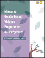 New Tool to Manage Gender-Based Violence Programmes in