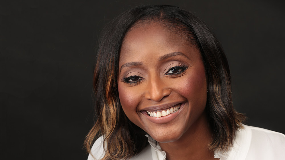 Isha Sesay. Crédit photo: Cathrine White