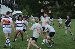 Rugby United NY demonstration match held at the United Nations Headquarters in New York