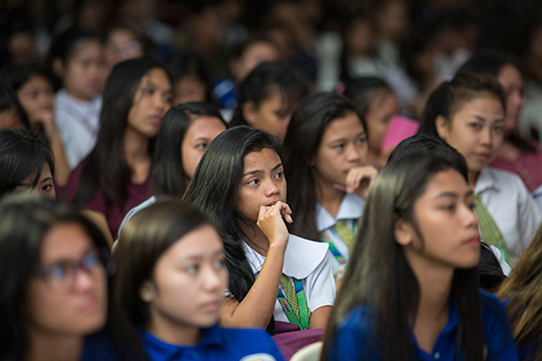 In the Philippines, information key to halting teenage