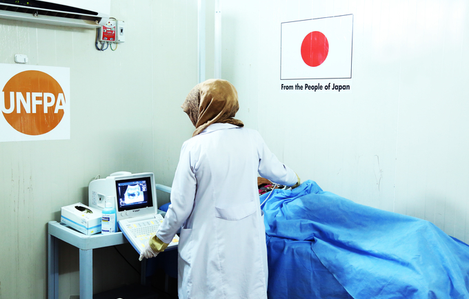 UNFPA and the Government of Japan are partnering to provide critical reproductive health support in Iraq. Image courtesy of Courtesy of UIMS.