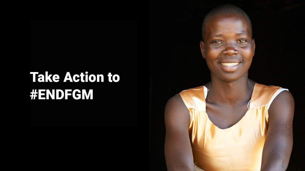 Pledge to champion the end of female genital mutilation
