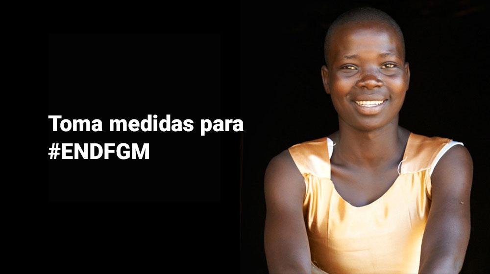 Comprométase a defender la eliminación de la mutilación genital femenina