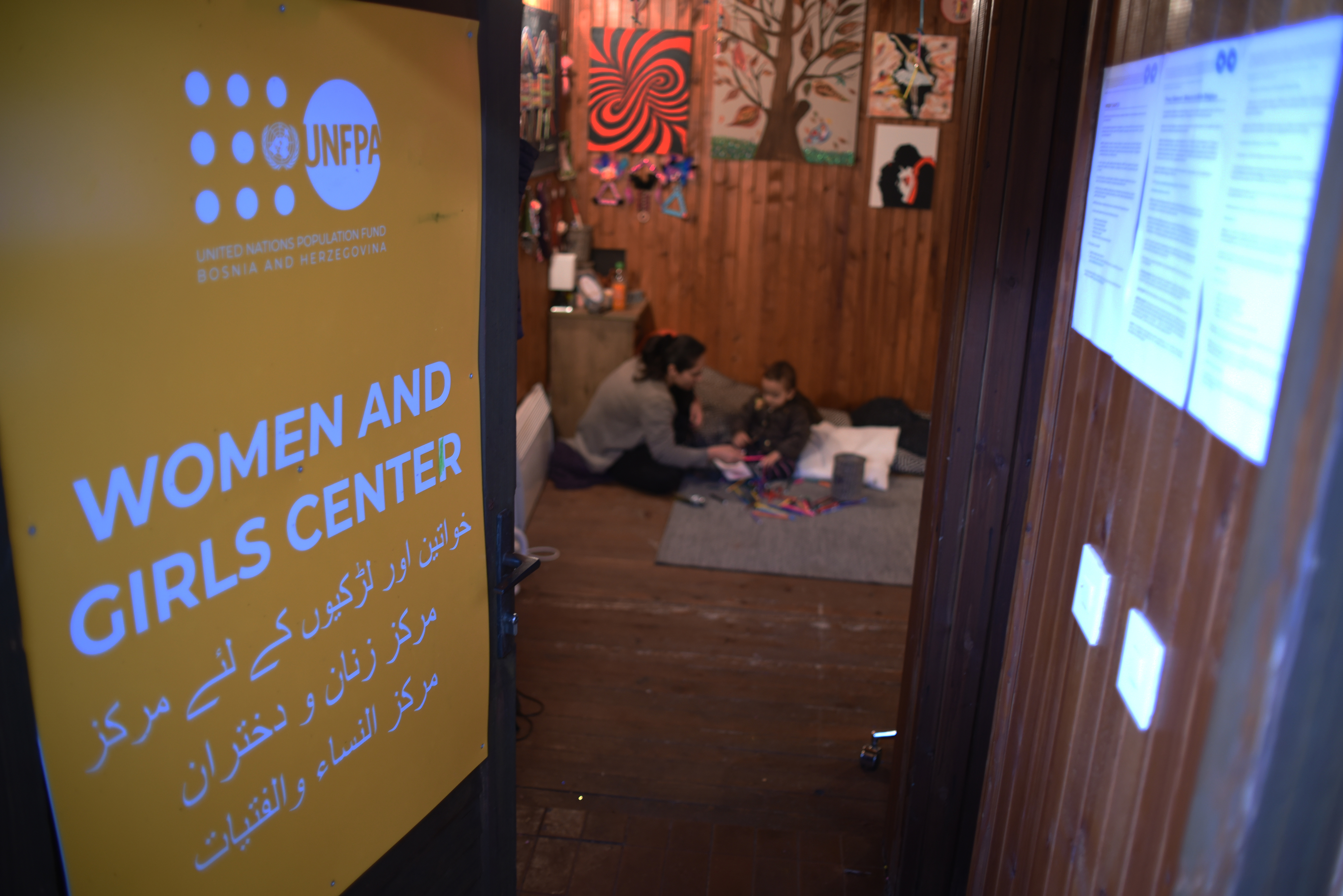 Women and girls centre in Bosnia and Herzegovina