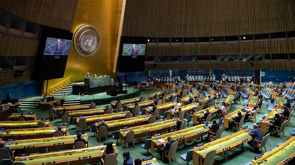 Progress towards gender equality at risk, say leaders at 25th anniversary of...
