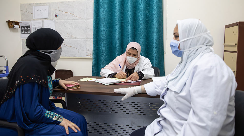 In Egypt, family planning unit works to ensure continuity of services amid...