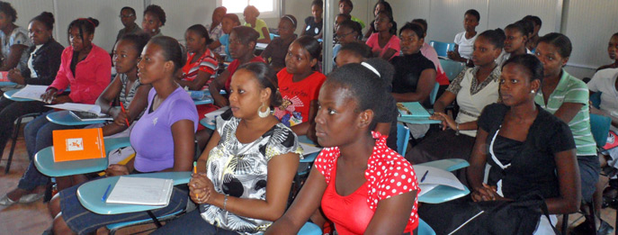 Classes have begun at the new National Midwifery School in Port-Au-Prince, housed in a new earthquake-resistant building following the devastating quake that hit Haiti in January 2010. UNFPA