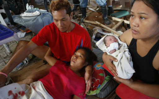 UNFPA Estimates 200,000 Pregnant Women Need Help in Aftermath of Super Typhoon