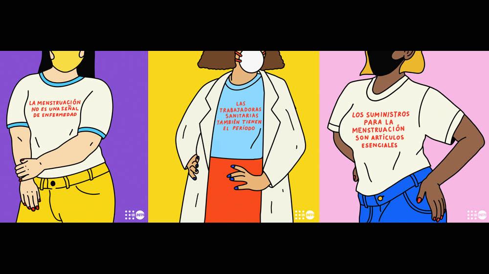 Nueve cosas que usted debe saber sobre los períodos y la pandemia