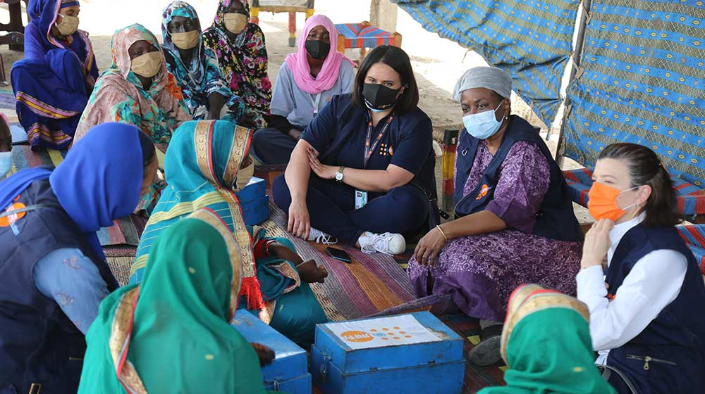 Sudan sees expanded life-saving reproductive health services, with women at the...