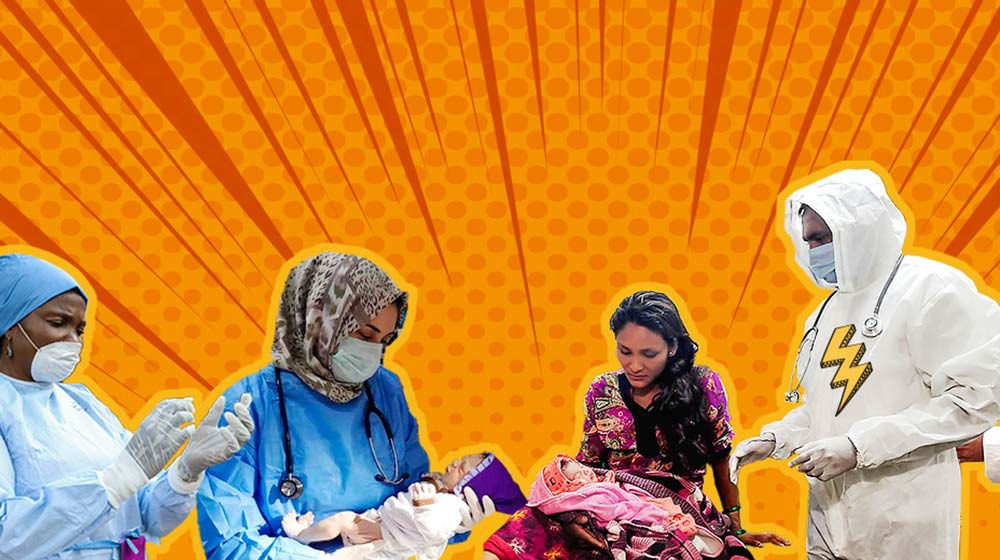 On World Humanitarian Day, UNFPA applauds real-life superheroes