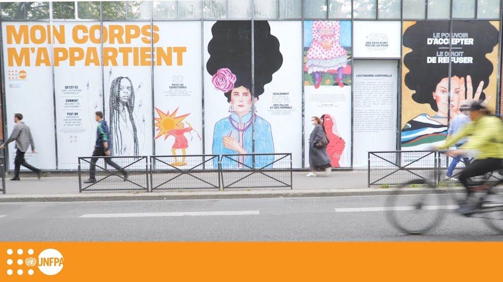 Une installation artistique met en évidence le besoin d'autonomie...