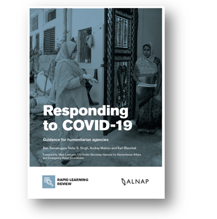 cover image for Responding to COVID-19: Guidance for humanitarian agencies