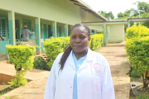 Dr. Sonia Bako, a UNFPA-supported specialist in obstetrics and gynaecology with the United Nations Volunteers programme.