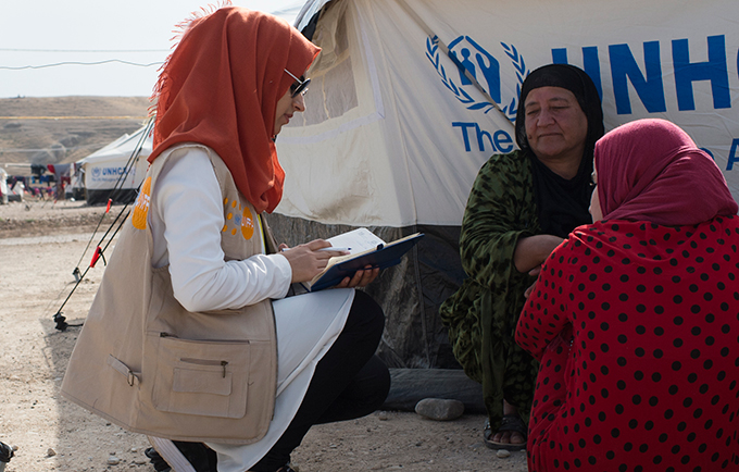UNFPA and partners are working to protect vulnerable populations from sexual exploitation and abuse. © UNFPA Iraq