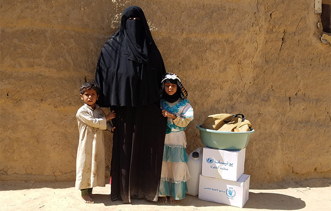 Yemen tops the list of countries with the greatest humanitarian needs. © UNFPA Yemen