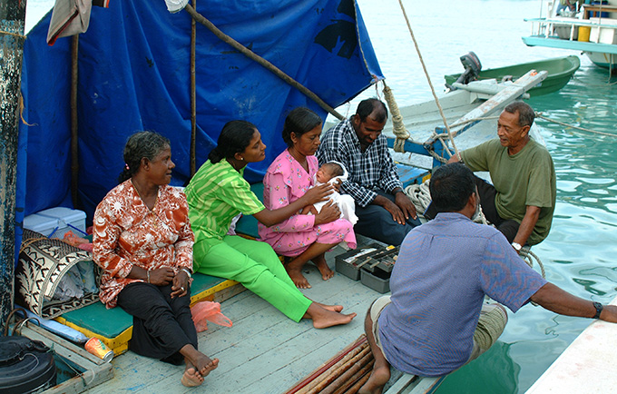 Joint UN estimates indicate the Maldives has seen a 90 per cent decline in maternal mortality since 1990. © UNFPA/Shahina Ali