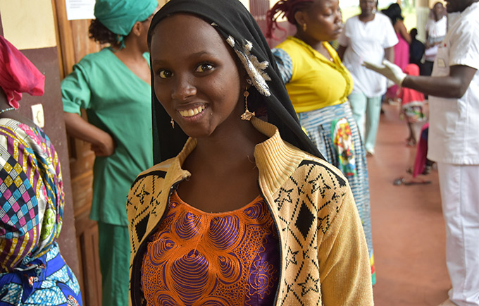 A young woman at a fistula-repair campaign in Batouri, Cameroon. Obstetric fistula is a life-altering childbirth injury that afflicts the world's most marginalized women. But it can be repaired – and prevented. © UNFPA Cameroon/Olive Bonga