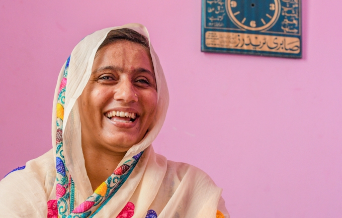 """Never give up hope,"" fistula survivor tells Pakistani women"