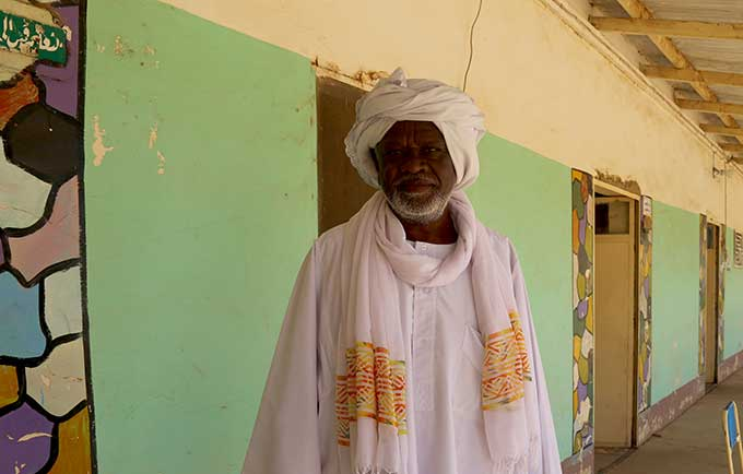 Abdullah Ali Abdullah has spent 30 years working with communities in North Kordofan to encourage abandonment of female genital mutilation. © UNFPA Sudan