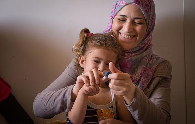 The needs of migrant women and girls are falling through the cracks. Izdihar, a Syrian refugee in Jordan. © UNFPA Jordan/Sima Diab