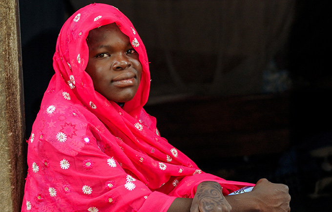 Faouzia Yaya was forced into marriage three years ago. A new penal code has just been adopted to prevent such marriages. © UNFPA Cameroon