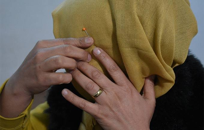 Cojine* a subi des années de violence conjugale en Irak. © UNFPA Irak