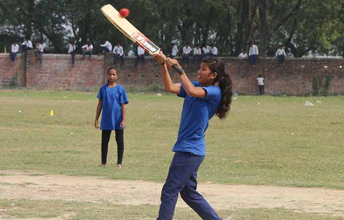 Gudiya Chaudhary traveled 35 km to participate in the tournament, which was the first of its kind in the district.