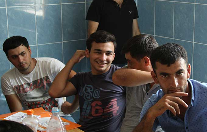 An initiative is bringing men together to address gender-based violence and the inequalities that fuel it. © UNFPA Azerbaijan