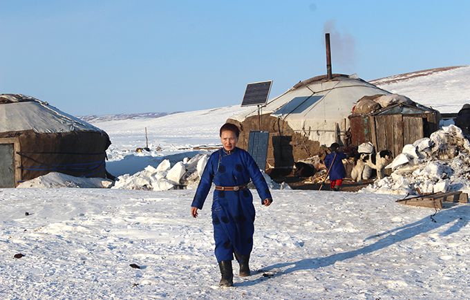 Women in remote areas have limited access to sexual and reproductive health care. © UNFPA Mongolia/Bayartsogt Shagdarsuren