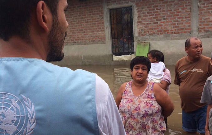 "María is leading recovery efforts in her community. ""The situation is decaying each day,"" she said. © UNFPA/Cotera"