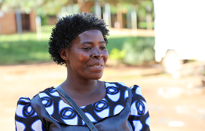 Margret Rambiki lived with obstetric fistula for 13 years. Finally, her mother learned how she could get relief. © UNFPA Malawi/Henry Chimbali