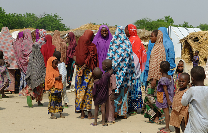 Women and girls are at risk in Boko Haram-affected areas. © OCHA/Ó. Fagan