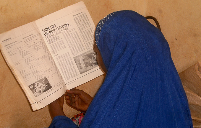 Nigo, a 14-year-old girl from Nigeria, was abducted by Boko Haram in November. After she escaped to Niger, she received support from a UNFPA-supported programme. © UNFPA Niger/Souleymane Saddi Maazou