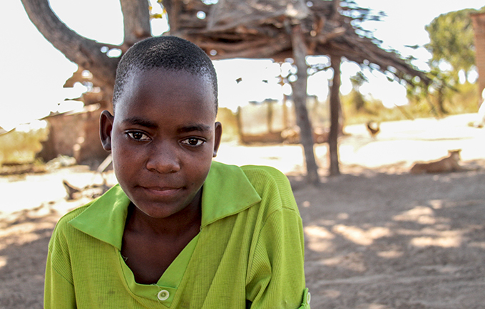 Sibongile Majaura's business has saved her education and helps support her family. © UNFPA Zimbabwe/Nikita Little