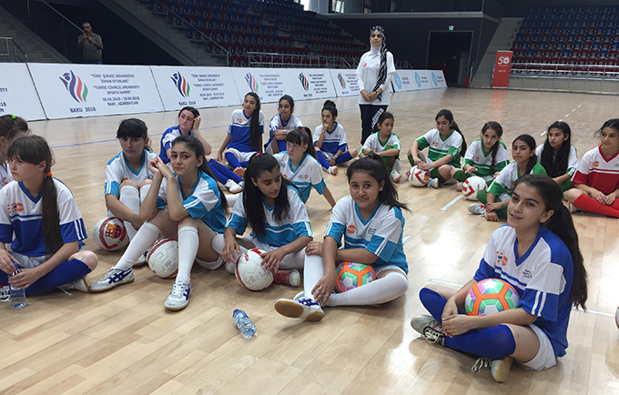 Girls in Azerbaijan battle disability stigma with sports