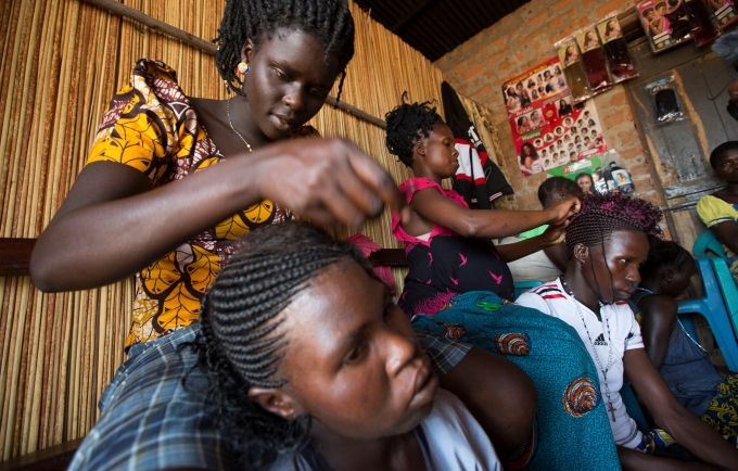 In Uganda, surviving rape and child marriage one plait at a time