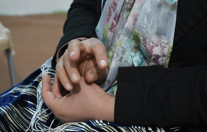 Fatima tells her story. She has endured over a decade of abuse. © UNFPA Iraq/Salwa Moussa
