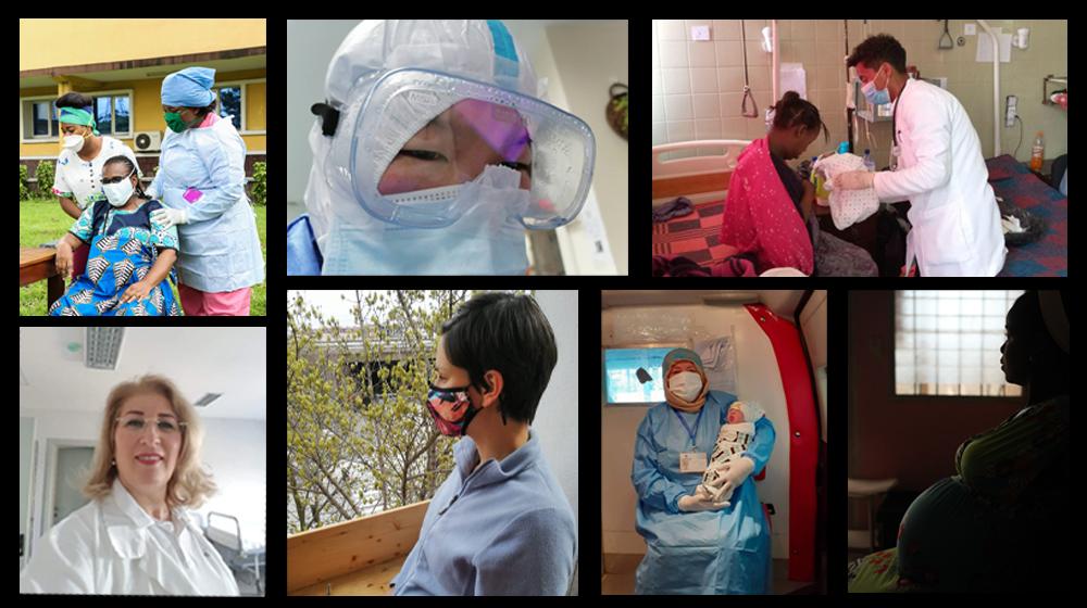 La pandemia introdujo peligro e incertidumbre al comienzo del embarazo.