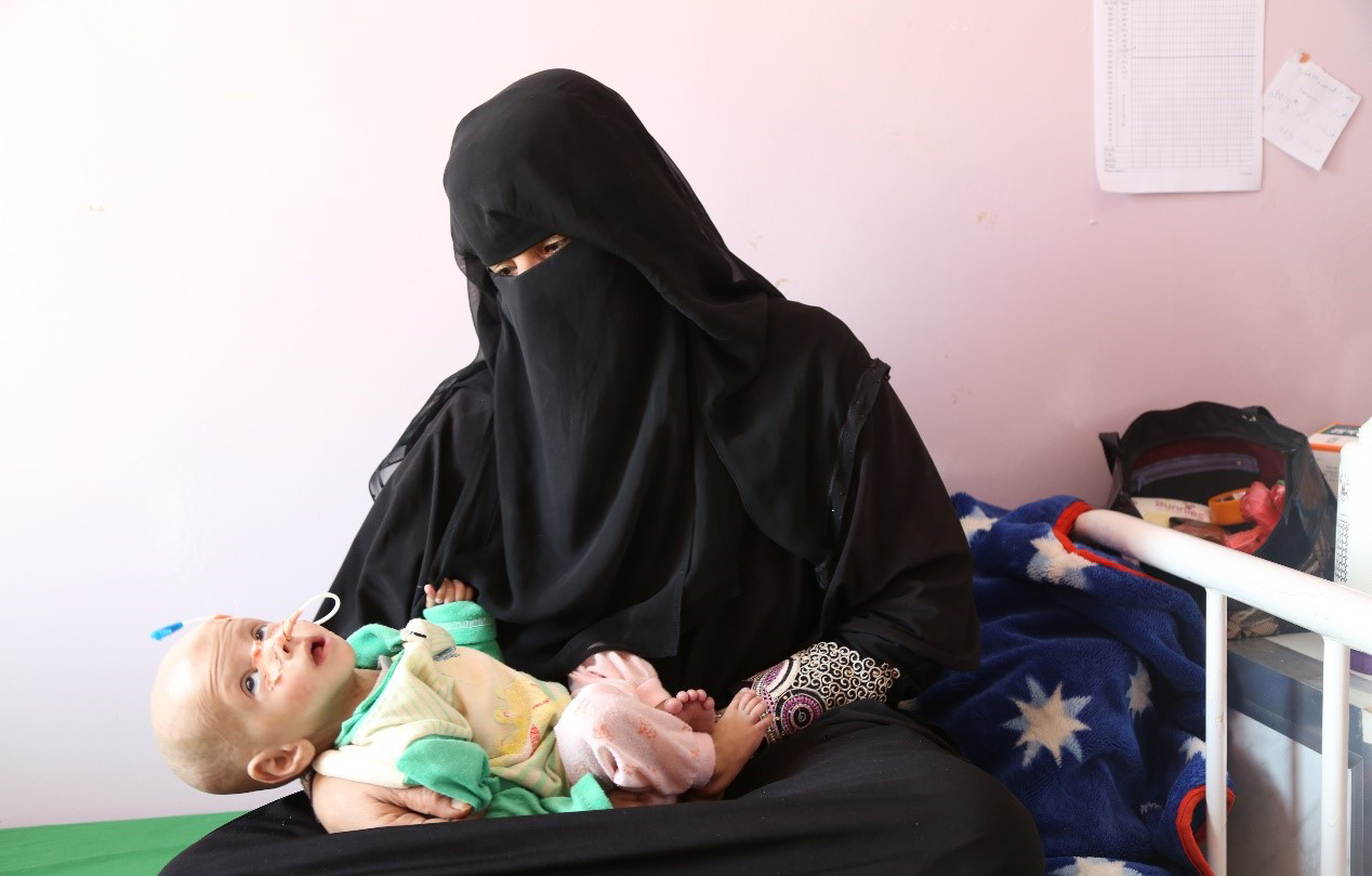 Looming famine threatens the lives of 2 million pregnant women and new mothers in Yemen