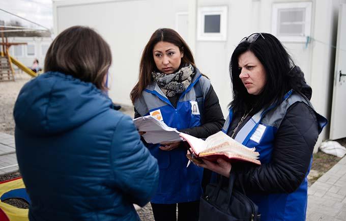Svitlana Tavantseva counsels survivors of violence in Ukraine. Too often, she says, women are shamed rather than perpetrators. © UNFPA Ukraine/Maks Levin
