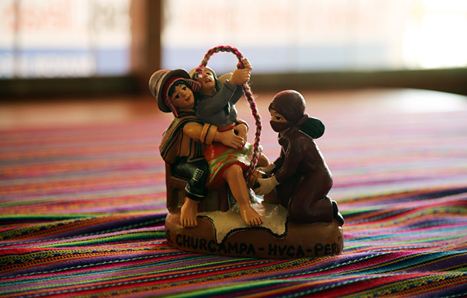 Respect for childbirth traditions saves lives in the Peruvian Andes