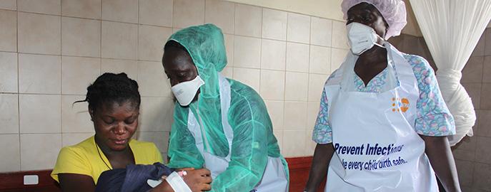 Au Libéria, l'épidémie d'Ebola place les femmes enceintes en situation de détresse