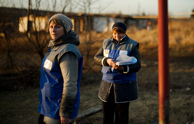 To tackle domestic violence, Ukraine looks to UNFPA's mobile assistance teams