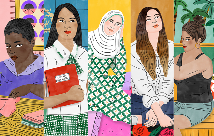 What does gender inequality look like? These five girls can tell you.