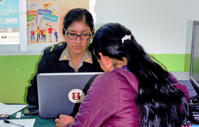The UNFPA-supported CASE Centre offers social and legal support for women survivors of gender-based violence in Ayacucho. © Municipality of Huamanga/Roxana Gomez Leon